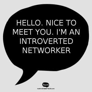 Guide to networking for introverts