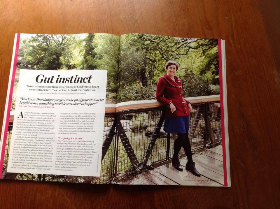 Psychologies Magazine press freelance copywriter London